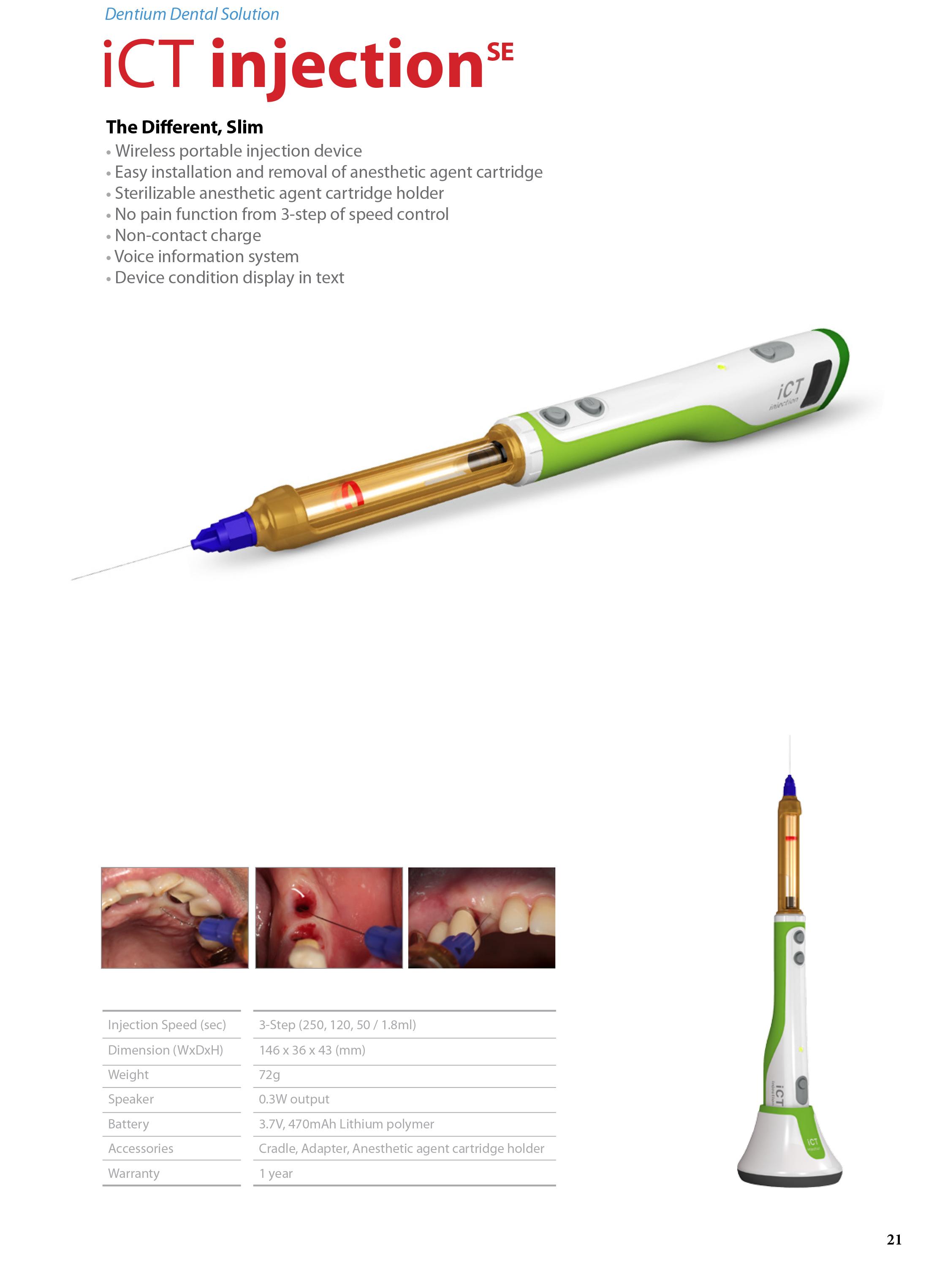 ict injection-spruta